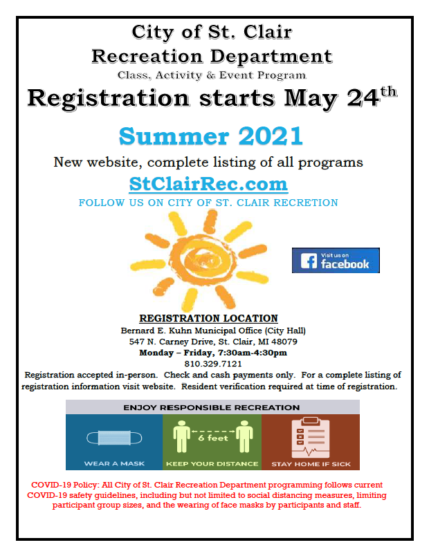 Summer Brochure Cover